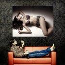 Sexy Brunette Girl Hot Lingerie Body Huge 47x35 Print POSTER