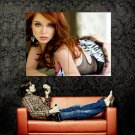 Hot Redhead Babe Sexy Beauty Huge 47x35 Print POSTER