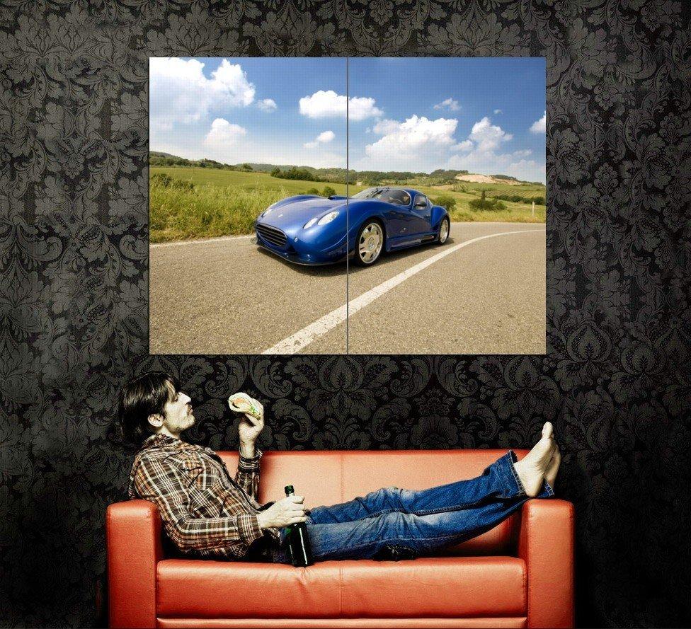 Faralli Mazzati Antas V8 GT Supercar Huge 47x35 Print POSTER