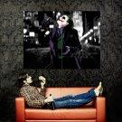 Heath Ledger Joker Batman Dark Knight Huge 47x35 Print POSTER