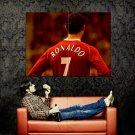 Cristiano Ronaldo Football Sport Huge 47x35 Print POSTER