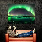 Aurora Polaris Night Stars Nature Huge 47x35 Print POSTER
