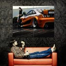 Toyota Celica Tuning Hot Girl Car Auto Huge 47x35 Print POSTER