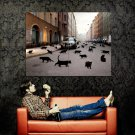 Cat S World Animal Volvo Cool Huge 47x35 Print Poster