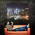 Manhattan New York City USA Huge 47x35 Print Poster