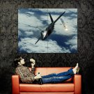 Military Flares Fighter Aircraft Huge 47x35 Print Poster