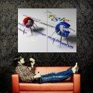 Living GOOGLE Letters Cool Hi Tech Huge 47x35 Print Poster