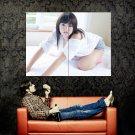 Ai Shinozaki Hot Japanese Actress Huge 47x35 Print Poster