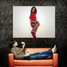 Misa Campo Sexy Hot Model Huge 47x35 Print Poster