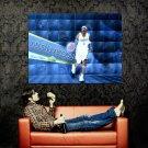 Allen Iverson Denver Nuggets NBA Huge 47x35 Print Poster