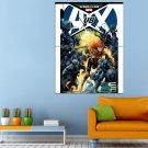 Comics Marvel Avengers Vs X Men Round 4 Huge 47x35 Print POSTER