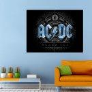 Acdc Hard Rock Angus Young Huge 47x35 Print Poster