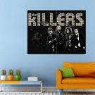 The Killers Indie Rock Brandon Flowers Huge 47x35 Print POSTER