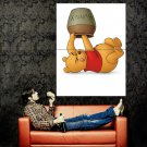 Winnie The Pooh Honey Cute Art Huge 47x35 Print Poster