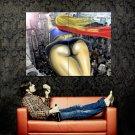 Supergirl Hot Butt Flight Cool Art Huge 47x35 Print Poster