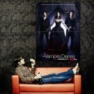The Vampire Diaries Elena Stefan Damon Huge 47x35 Print Poster