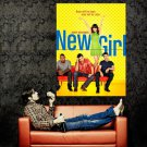 New Girl Characters TV Series Huge 47x35 Print Poster