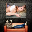 Kari Nautique Sexy Bra Hot Model Huge 47x35 Print Poster