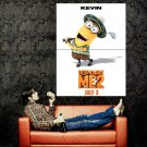 Despicable Me 2 Kevin Animation 2013 Huge 47x35 Print Poster