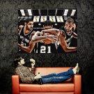 Tim Duncan NBA Art San Antonio Spurs Huge 47x35 Print Poster
