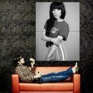 Carly Rae Jepsen Singer Music BW Huge 47x35 Print Poster