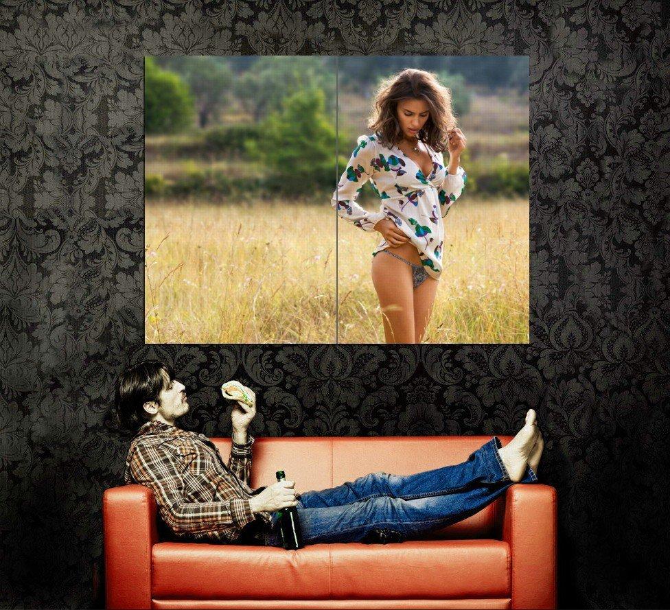 Irina Shayk Hot Model Huge 47x35 Print Poster