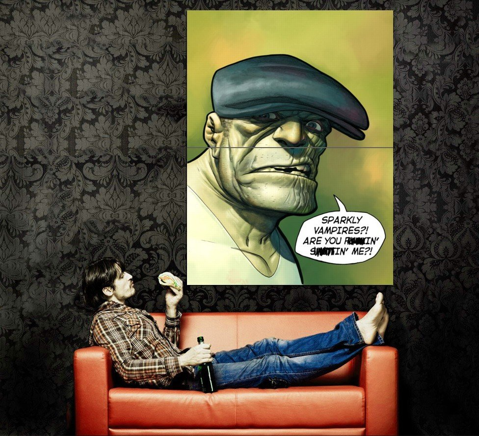 The Goon 34 Cool Art Huge 47x35 Print Poster