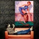 Hot Retro Pin Up Girl Gil Elvgren Art Huge 47x35 Print Poster