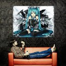 Hatsune Miku Vocaloid Art Huge 47x35 Print Poster