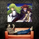 Code Geass Lelouch Of The Rebellion Huge 47x35 Print Poster