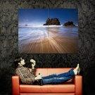 Beautiful Sea Scenic Rock Wind Huge 47x35 Print Poster