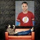 Sheldon Cooper The Big Bang Theory Huge 47x35 Print Poster
