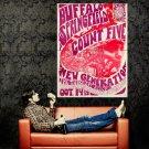 Buffalo Springfield Count Five 1966 Huge 47x35 Print Poster