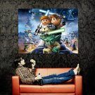 Awesome Lego Star Wars Art Huge 47x35 Print Poster