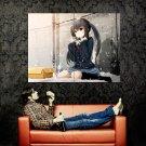 K On Nakano Azusa Anime Art Huge 47x35 Print Poster