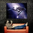 Star Trek Enterprise Sci Fi Spacecraft Huge 47x35 Print Poster