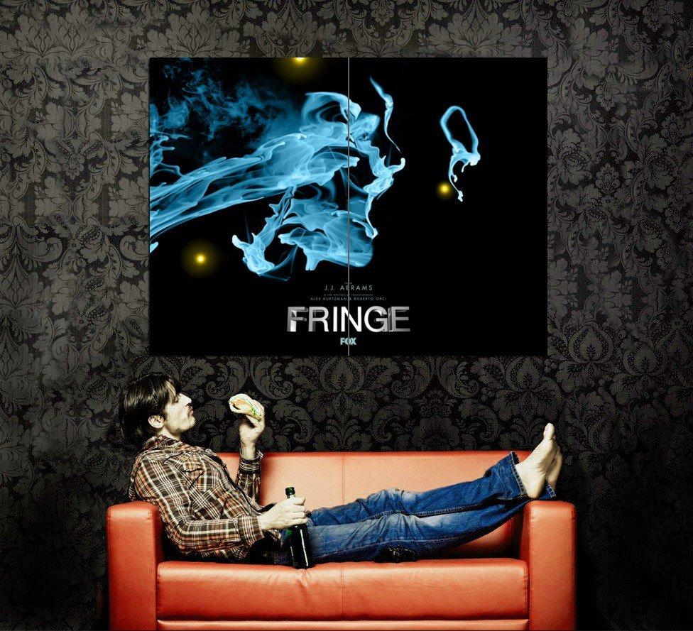 Fringe TV Show Art Huge 47x35 Print Poster