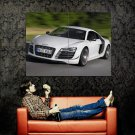Audi R8 GT Sport Car Speed Huge 47x35 Print Poster