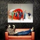 Scrubs Cast TV Series Show Huge 47x35 Print Poster