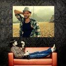 Ashton Kutcher Hot Actor Huge 47x35 Print Poster