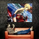 Fate Stay Night Saber Anime Art Huge 47x35 Print Poster