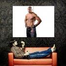 Alistair Overeem MMA Fighter Sport Huge 47x35 Print Poster