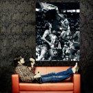 Karl Malone Dunk Utah Jazz BW NBA Huge 47x35 Print Poster