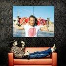 Heath Ledger Skateboard Movie Actor Huge 47x35 Print Poster