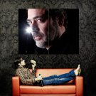 Jeffrey Dean Morgan Portrait Movie Actor Huge 47x35 Print Poster