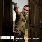 The Walking Dead Rick Grimes Revolver 32x24 Print POSTER