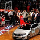 Blake Griffin Slam Dunk Contest Davis Car 32x24 Print POSTER