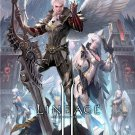 Lineage 2 Chaotic Throne Mmorpg Art 32x24 Print Poster