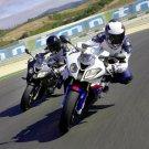 BMW S1000RR Sport Bikes Motorcycles 32x24 Print POSTER