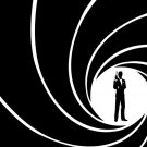 James Bond 007 Logo Gun Movie 32x24 Print POSTER